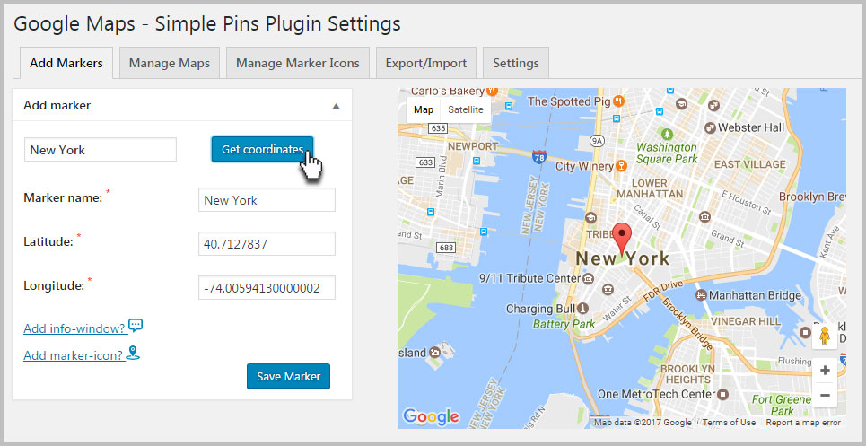 how to add google map in avada theme