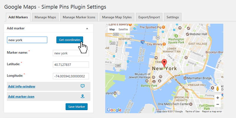 Google Maps - Simple Pins PRO - 8